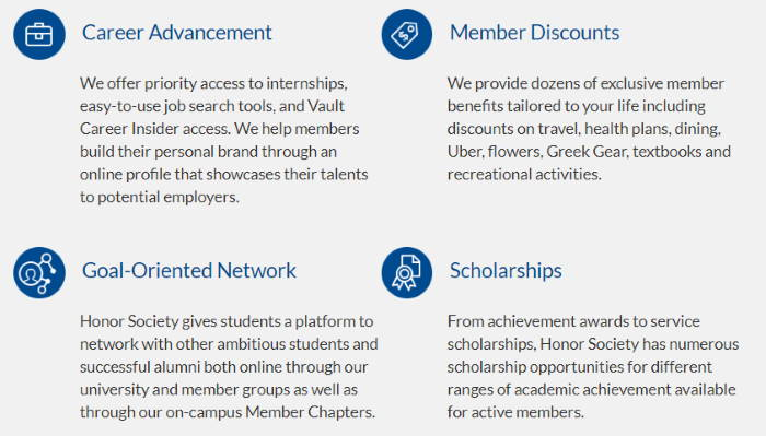 Honorsociety overview